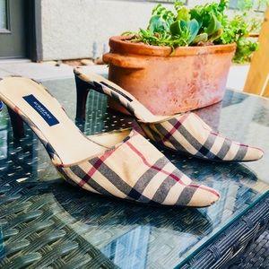 Authentic Burberry Nova Heels